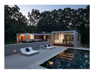 New Canaan Residence Specht Architects Piscina moderna