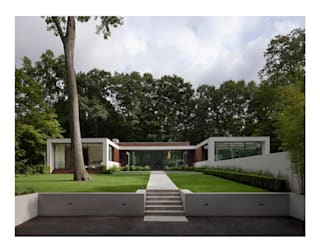 New Canaan Residence Modern houses by Specht Architects Modern