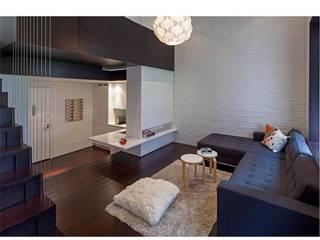 Manhattan Micro-Loft by Specht Architects Modern