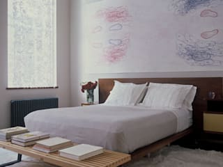 Meltzer Ames Loft Specht Architects Modern style bedroom