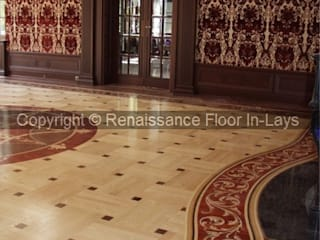 Living room by Renesans Floor In-lays , Classic