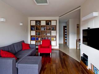 Mieszkanie na Tarchominie: styl , w kategorii Salon zaprojektowany przez Ładne Wnętrze