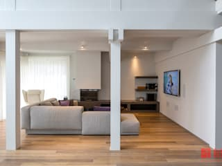 Salon minimaliste par Art-In Minimaliste