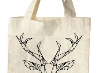 bag deer white:   door Sophie Wolterink