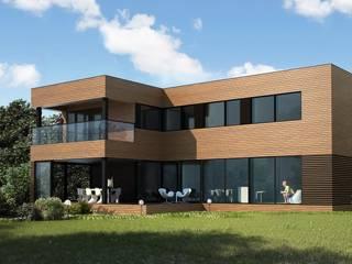 Готовые дома Дома в скандинавском стиле от ALEXANDER ZHIDKOV ARCHITECT Скандинавский