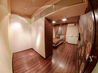 Квартира в этно стиле: Спальни в . Автор – Атмосфера