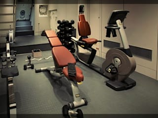 Superyacht Gym - New Zealand: modern Yachts & jets by Mark Healy Fitness Management
