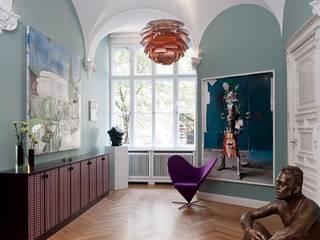 Couloir, entrée, escaliers originaux par Gisbert Pöppler Architektur Interieur Éclectique