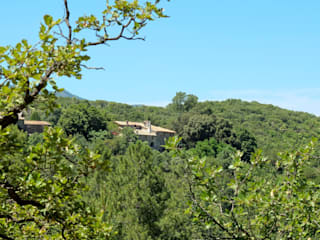 Mas Novis dans son cadre de Nature: Maisons de style  par Mas Novis
