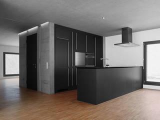 NeubauEinfamilienhaus Brunnadern:  Küche von Markus Alder Architekten GmbH