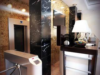 Бизнес-центр Грин Парк в г. Екатеринбург Офисные помещения в стиле минимализм от Дизайн-студия 'Эскиз' Минимализм