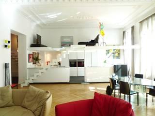 Maison contemporaine Salon moderne par LA BELLE HISTOIRE Moderne