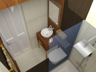 Mediterranean style bathrooms by DETAY MİMARLIK MÜHENDİSLİK İÇ MİMARLIK İNŞAAT TAAH. SAN. ve TİC. LTD. ŞTİ. Mediterranean
