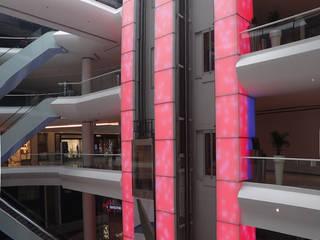 AKASYA AVM Centros comerciales de estilo moderno de ÖZEL PROJE ÇÖZÜMLERİ ÜRETİMİ MİMARLIK SANAYİ VE TİCARET LTD ŞTİ Moderno