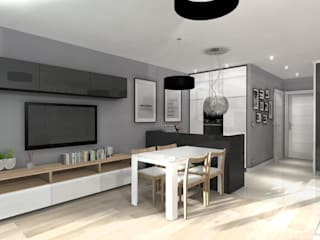 Cocinas modernas de ArtDecoprojekt Moderno
