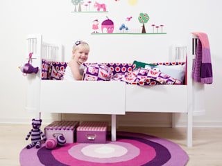 Mooie meisjeskamers van Sebra van De Kleine Generatie Scandinavisch