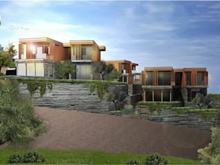 Olive Garden Fazlıca Akdeniz Evler Ulus Architects Akdeniz