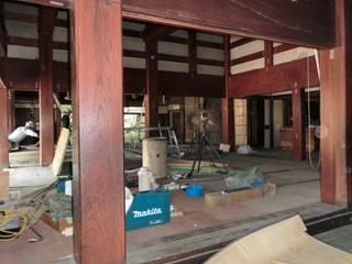 築110年の豪農の館を富山市中心市街地に移築再生: 杉江直樹設計室が手掛けたです。,
