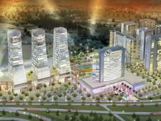 Masterplan Sheraton Hotel Complex Ulus Architects