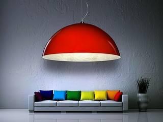 Klasyka lamp Luminato Nowoczesny salon od Luxum Nowoczesny