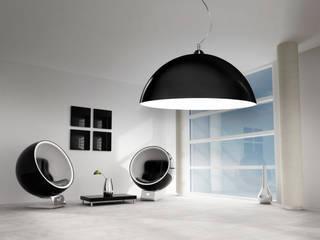 Classic lamps Luminato Modern living room by Luxum Modern