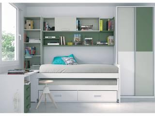 Dormitorio Juvenil AROA 4:  de estilo  de Muebles Arepesa