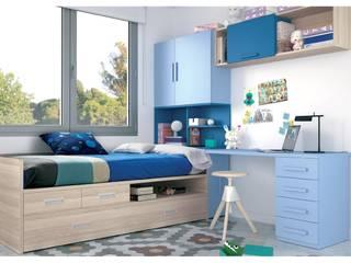 Dormitorios Juveniles:  de estilo  de Muebles Arepesa