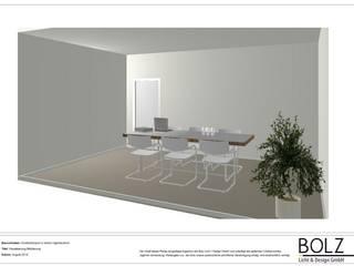 Visualisierung Büro, Besprechungsraum:   von Bolz Licht & Wohnen
