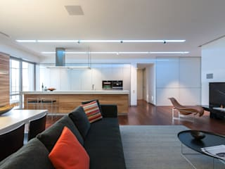 apartment V-21 Minimalist living room by VALENTIROV&PARTNERS Minimalist