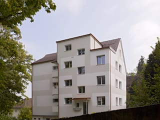 Umbau eines Mehrfamilienhauses aus den 30er Jahren in Luzern:  Häuser von Gut Deubelbeiss Architekten AG