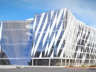 Saxo Bank - Copenhagen: Complessi per uffici in stile  di 3dita - Digital Visual Motion