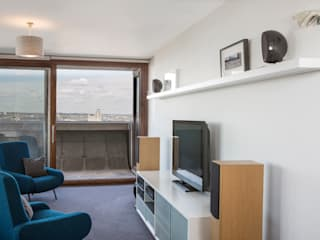 Music and TV centre:   by Forster Inc