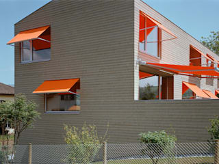 Neubau Doppeleinfamilienhaus :  Häuser von Gut Deubelbeiss Architekten AG