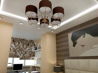 дизайн-бюро ARTTUNDRA Minimalist bedroom