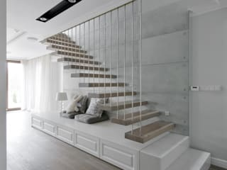 Modern Corridor, Hallway and Staircase by 3deko Modern