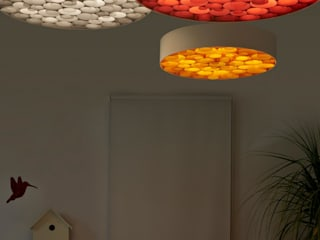 Designort Living roomLighting Engineered Wood Multicolored