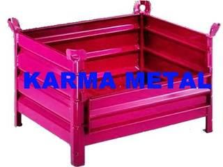 Pasillos, vestíbulos y escaleras industriales de KARMA METAL Industrial