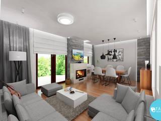 Sonatina: styl , w kategorii Salon zaprojektowany przez Tarna Design Studio