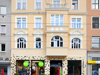 schröckenfuchs∞architektur Minimalist walls & floors