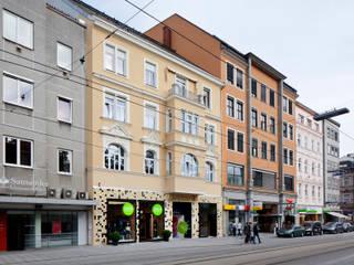 Moden Landa Minimalistische Häuser von schröckenfuchs∞architektur Minimalistisch