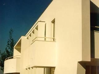 House in Monte da Virgem Modern Houses by José Melo Ferreira, Arquitecto Modern