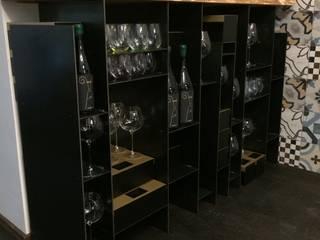 Ausstattung einer Bar und Verkostungraum Industriale Bars & Clubs von Gangl Interieur Industrial