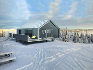 Prefabricated House: Дома в . Автор – ALEXANDER ZHIDKOV ARCHITECT, Минимализм