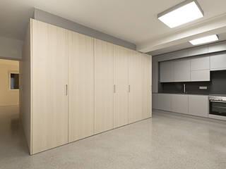 schröckenfuchs∞architektur Eclectic style study/office