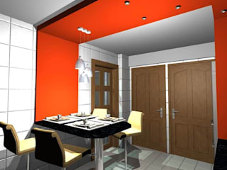 Кухни в . Автор – pb Arquitecto, Минимализм