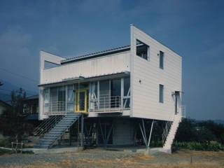南側外観 オリジナルな 家 の 原 空間工作所 HARA Urban Space Factory オリジナル セラミック