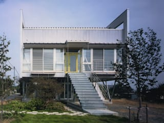 Eclectic style houses by 原 空間工作所 HARA Urban Space Factory Eclectic