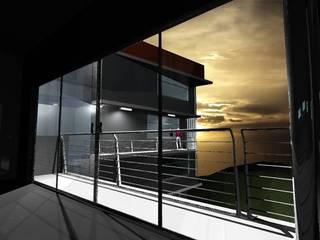 Modern houses by pb Arquitecto Modern