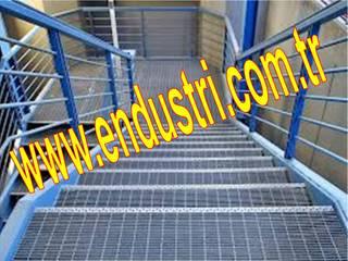 ENDÜSTRİ GRUP Industrial style corridor, hallway and stairs