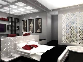 Dormitorios de estilo moderno de michel bandaly Moderno